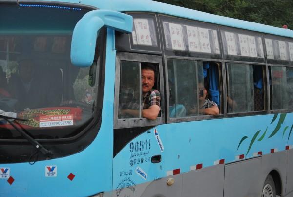 Xinjiang buses