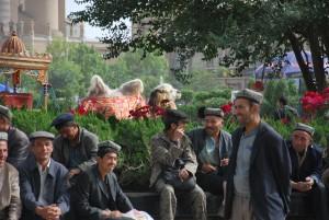 Uigher Men In Kashgar