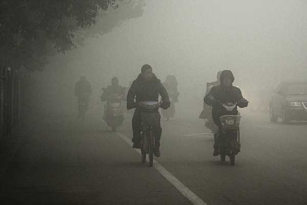 Post image for Airpocalypse! Another Smog Storm Covers China
