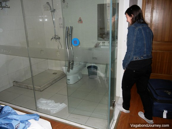 See Through Gl Bathroom Walls In Hotels China