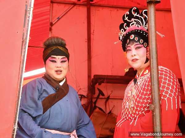 Chinese opera actresses
