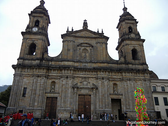 A church in Bogota