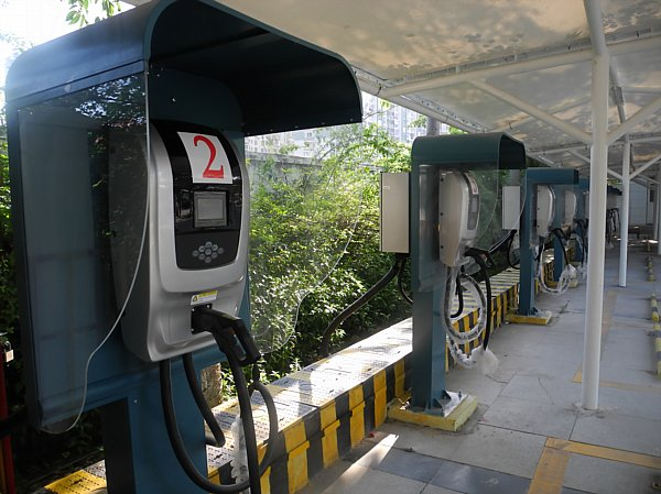 electric car charging station China (5)