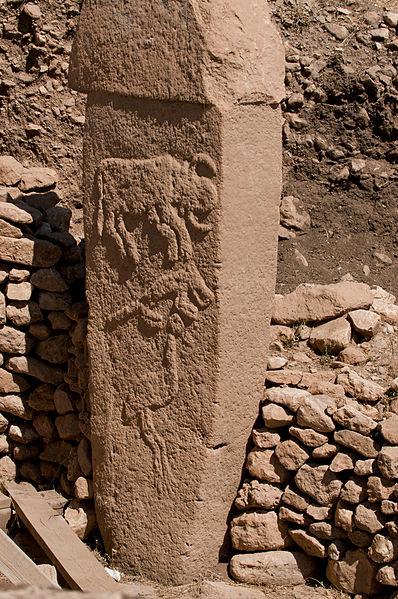 Monolithe à Göbekli Tepe