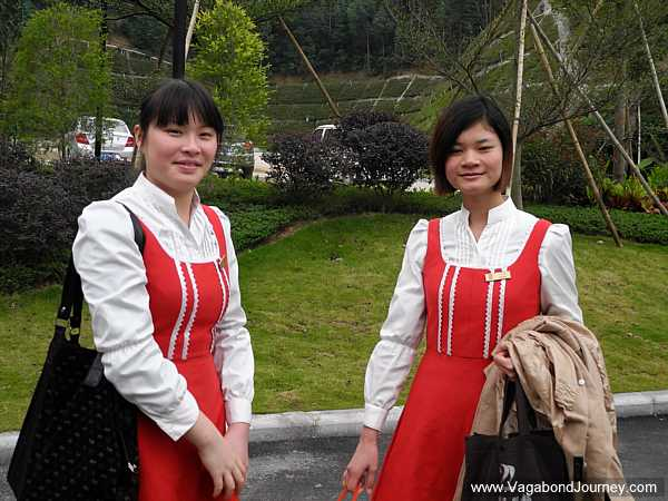 Hallstatt, China workers