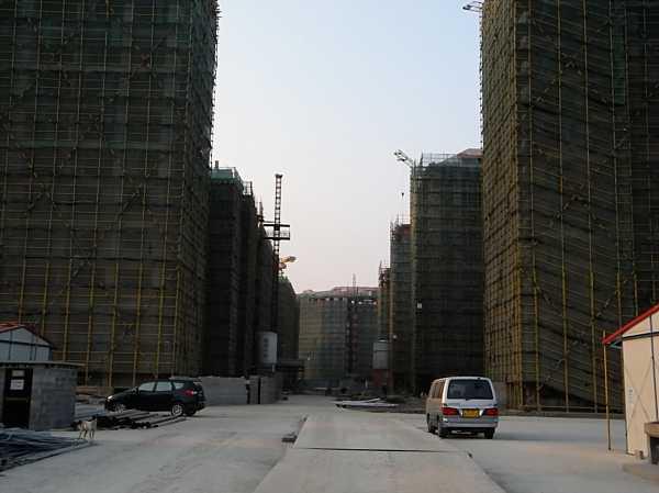 nanhui china new city construction