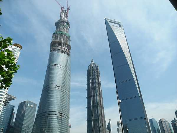 pudong-skyscrapers