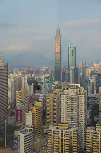shenzhen-skyscrapers