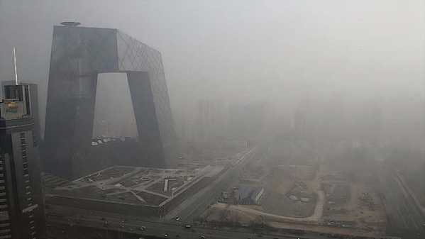 Smog storm in Beijing