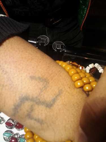 swastika tattoo tibetan