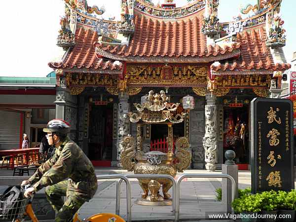 Shrine in Jincheng.