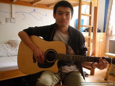 What Message Does This Traveling Musician Have For The Youth Of China?
