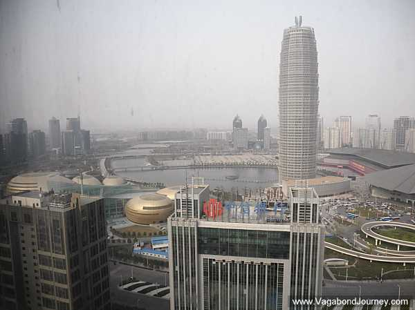 Zhengdong New District financial center