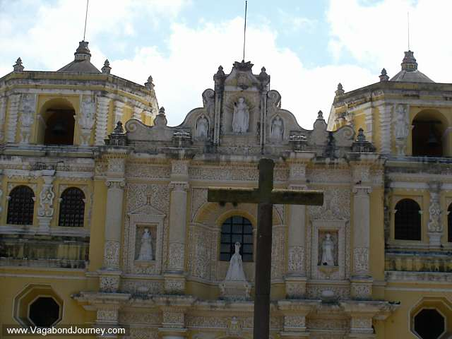 Cathedral in Antigua Guatemala.