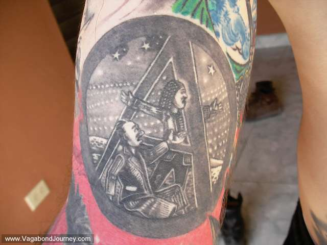 Tattoos of vagabond journey for Cheap tattoos nyc