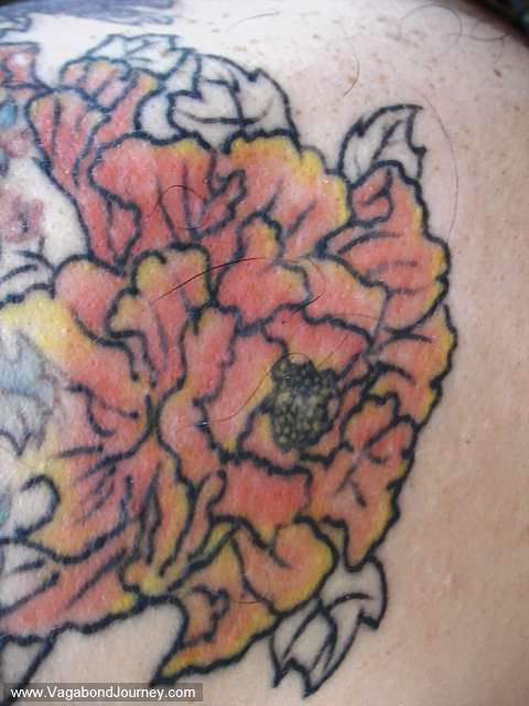 japanese body art 5 japanese flowers tattoos