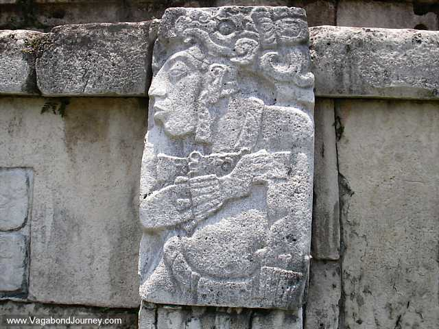 Palenque archaeology site in mexico