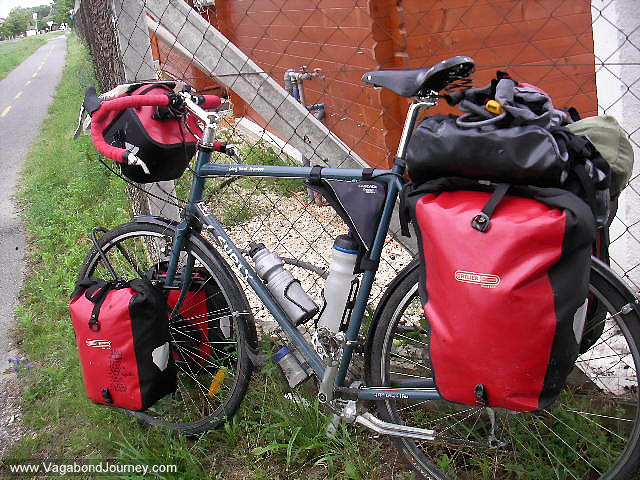 Bicycle Gear And Travel In Hungary