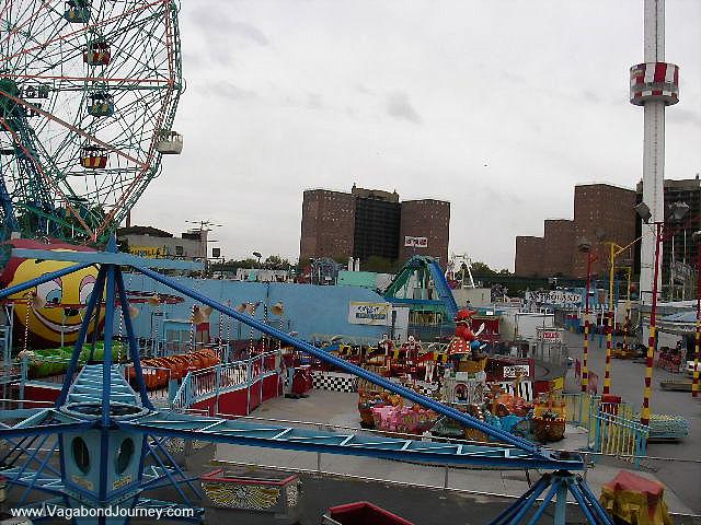 Trains At Coney Island