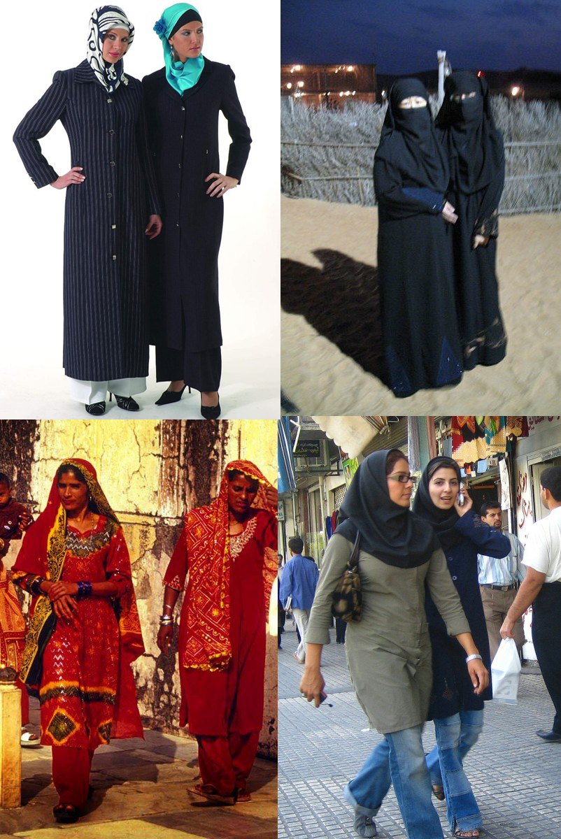 Seven Conditions For Women's Dress in Islam