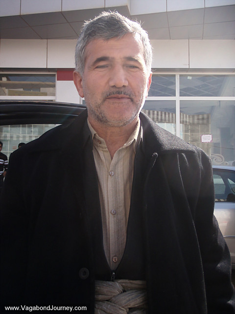 kurdish iraqi man