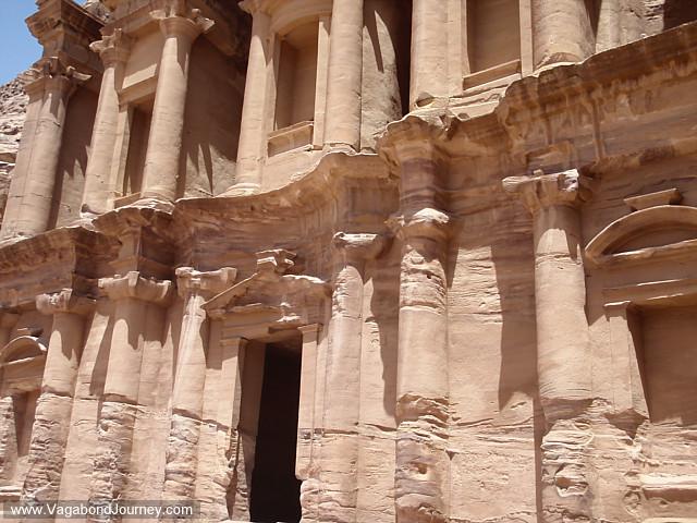 photo of petra monastery