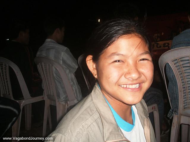 Girls in Laos
