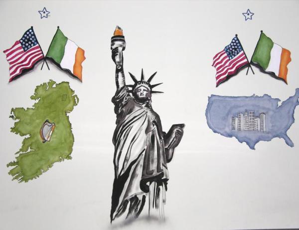 essays on irish immigration Running head: irish immigration in 1850's 1 irish immigration in 1850's dorothy mathews eth/125 march 7, 2010 henry williams irish immigration in 1850's 2.
