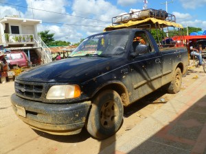 Transport to Cabo de la Vela