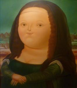 Fernando Botero's Mona Lisa