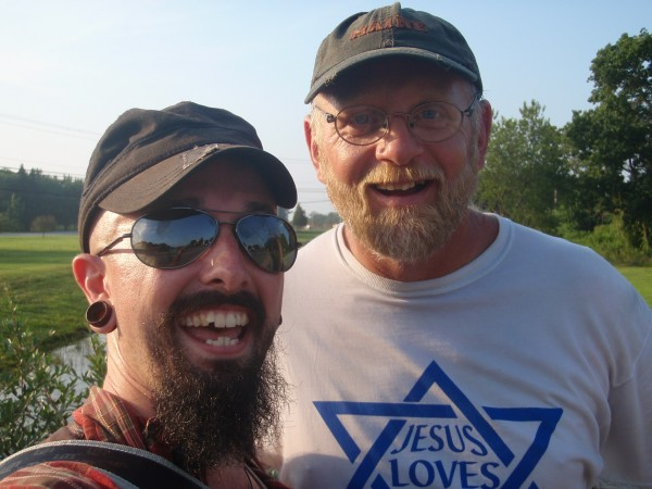 Wade and Tom Helling in Connecticut
