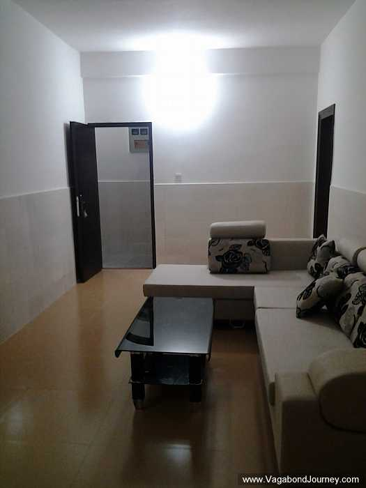 Typical Chinese apartment