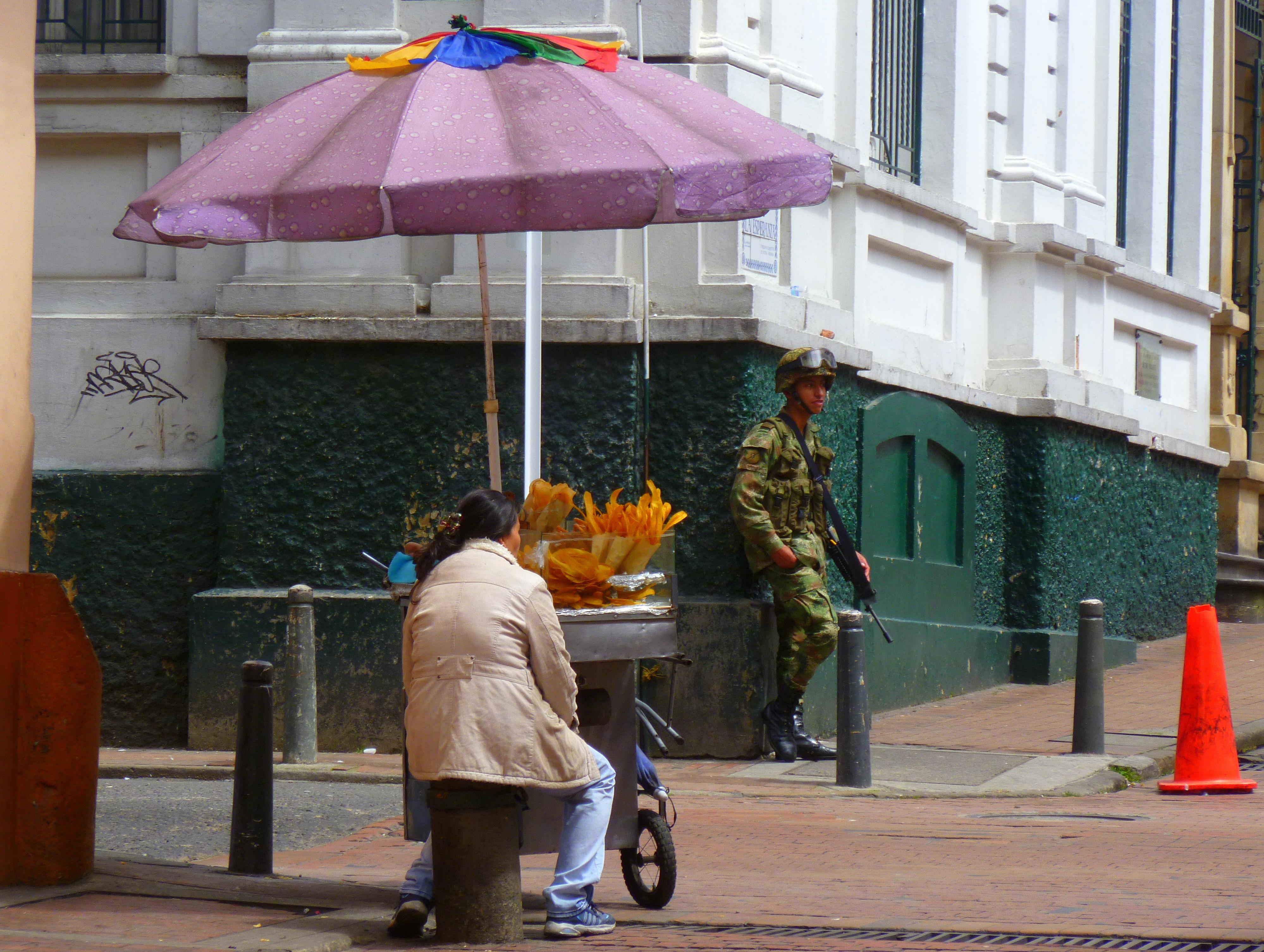 Bogota street corner