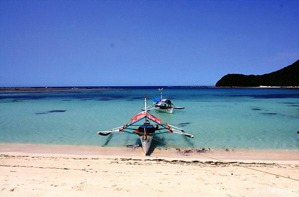 Boat at Anguib Beach