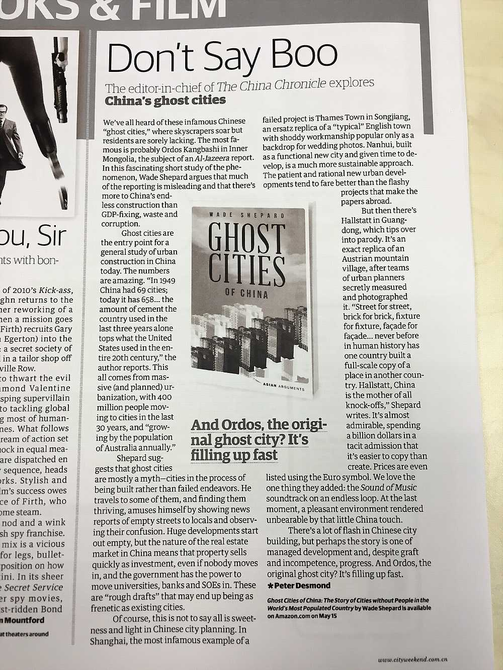 City Weekend Shanghai Ghost Cities Review_DCE