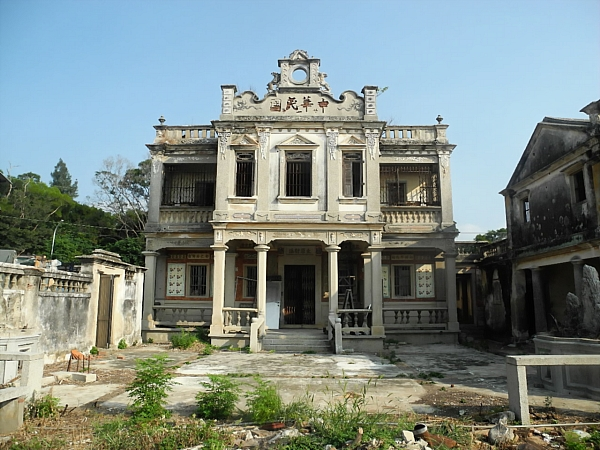 Colonial style house on Kinmen