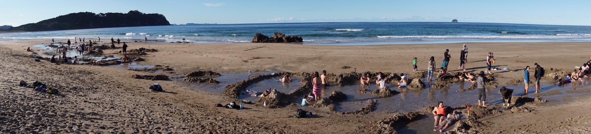 Hot Water Beach post image