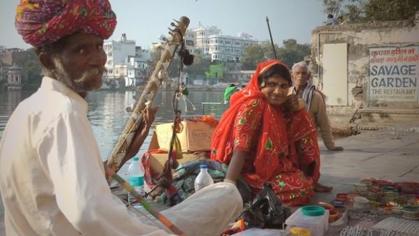 India street musician