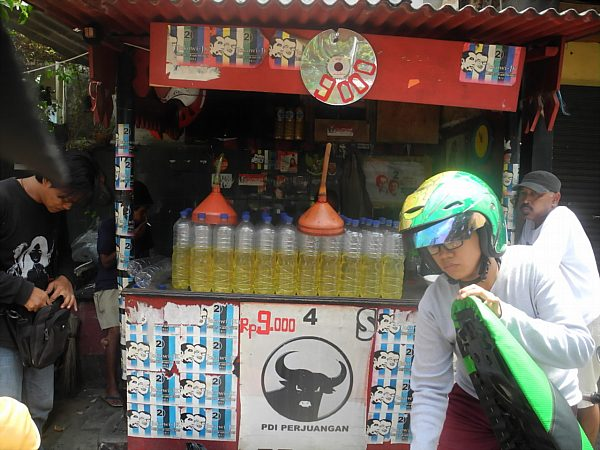 Jakarta gas station