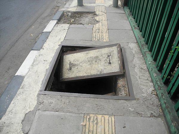 Jakarta sidewalk