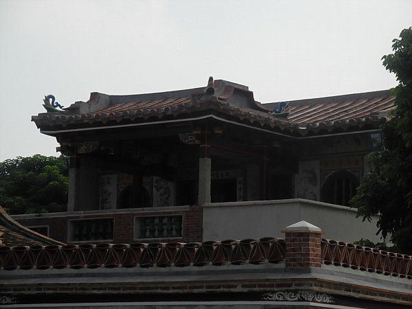 Hybrid style home on Kinmen.
