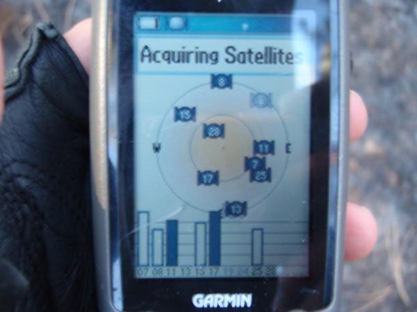 Garmin GPS unit with no signal