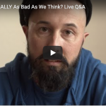 Live YouTube Q&A: Is The World Really As Bad As We Think? thumbnail