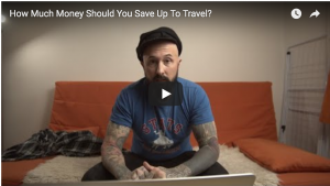 How Much Money Should You Save Before Traveling The World? | YouTube Live Q&A thumbnail