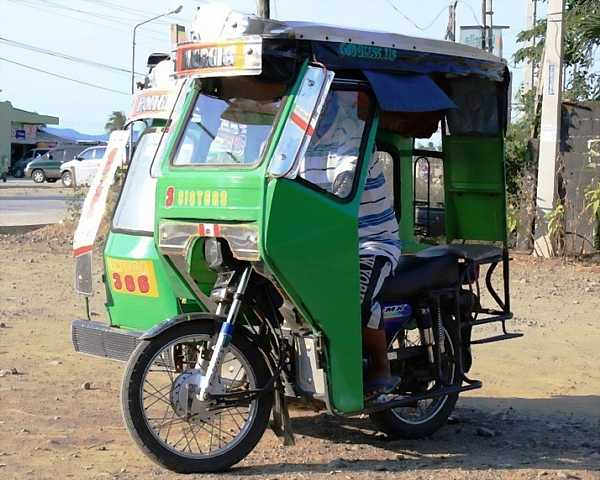 Tricycle in Cagayan