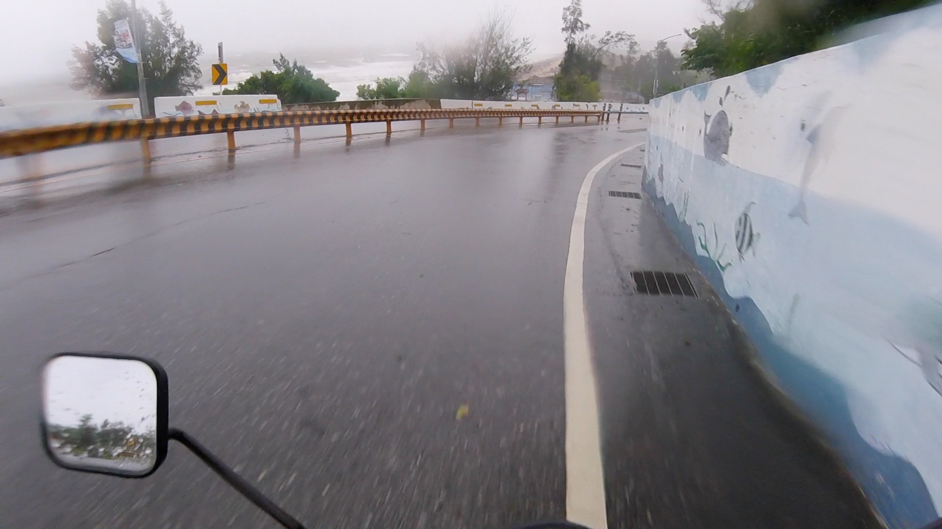 I Rode A Motorcycle In A Typhoon Today post image