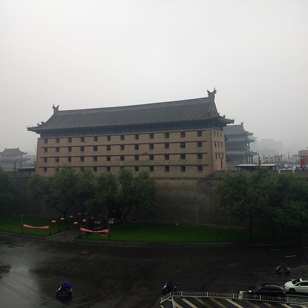 Xian east gate tower
