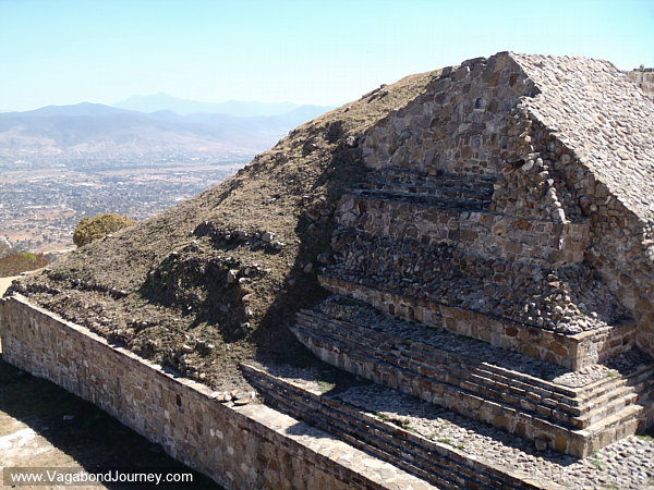Archaeology excavation at Monte Alban
