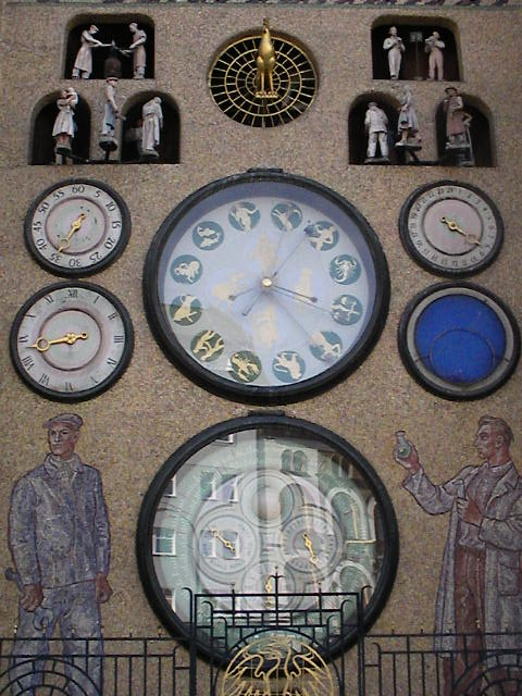 Image result for olomouc czech republic clock