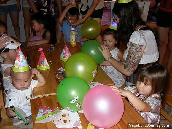 Petra birthday party